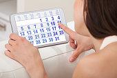 uso de la calculadora en el ciclo menstrual