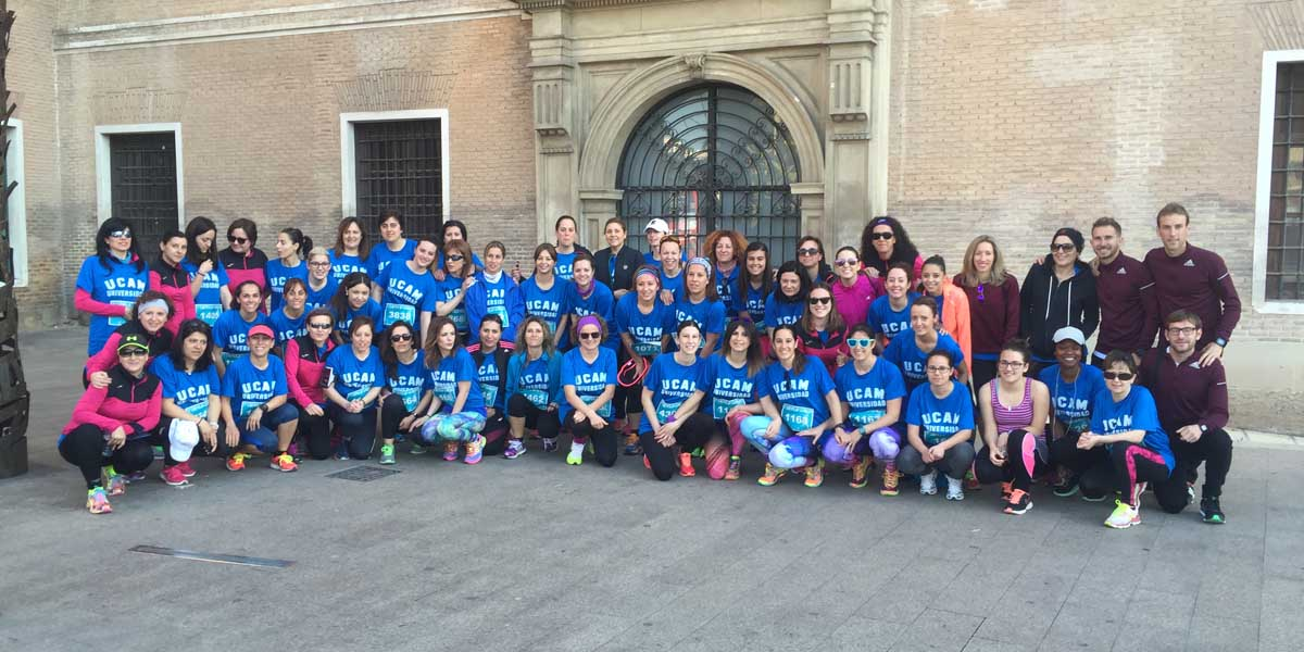 Woman Running Arrasa en Bullas