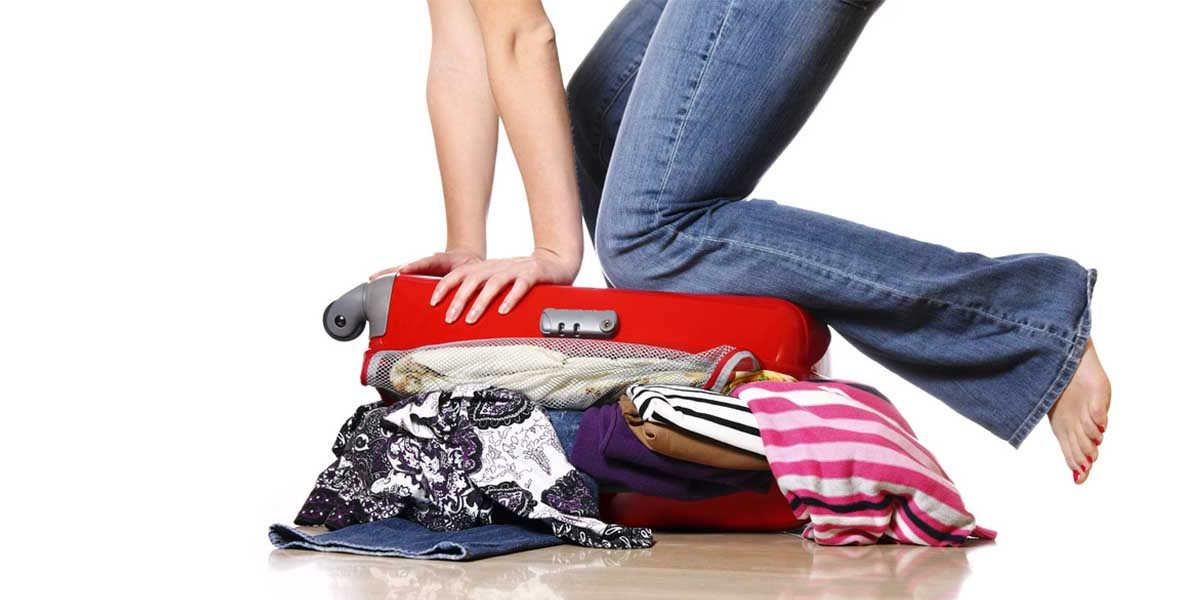 ahorrar espacio maleta