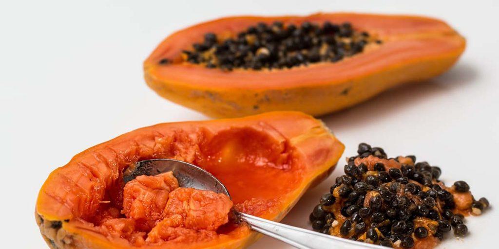 cómo comer papaya