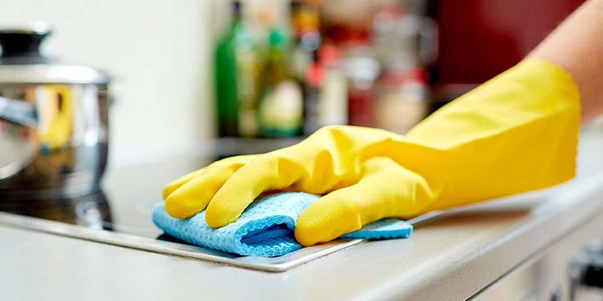 C mo limpiar la cocina sin esfuerzo y en poco tiempo - Como limpiar baldosas cocina ...