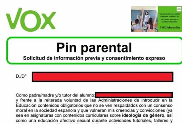 Ciudadanos anuncia un acuerdo con PP y Vox con menos exigencias con el Pin Parental