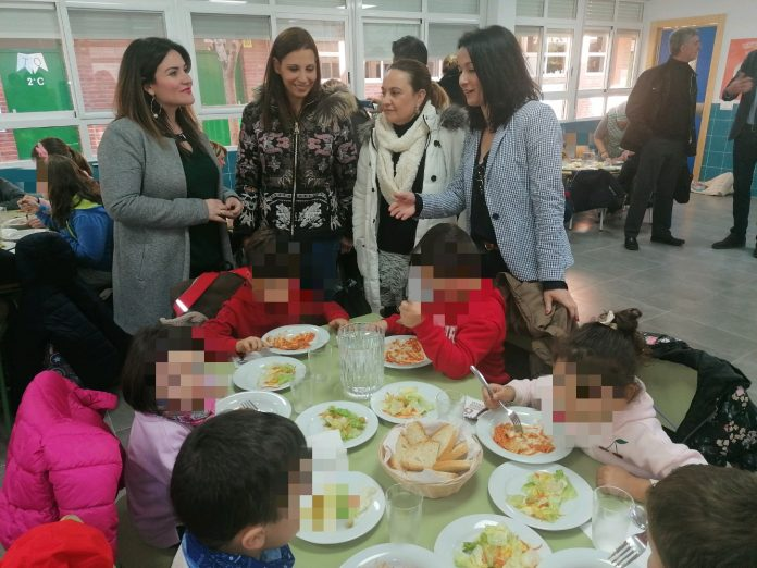 Ya esta en marcha dos nuevos comedores escolares en Cartagena