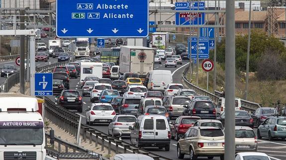 Murcia entre las primeras diez ciudades con más atascos de España