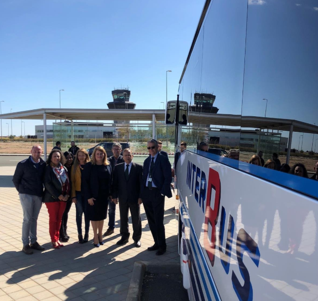 Cuatro líneas de 'Aerobús' conectarán a los usuarios con el aeropuerto de Corvera