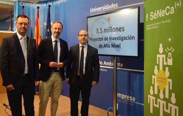 Más de tres millones de inversión para jóvenes investigadores de la Región