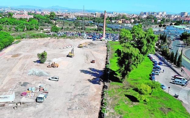 Nuevas zonas verdes en los terrenos de Barriomar donde estaba 'La Molinera'