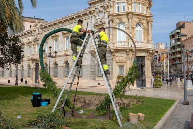 El 'photocall' de San Valentín estará abierto al público este mediodía en Cartagena