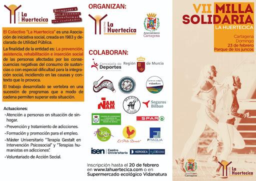 Comienza la VII Milla Urbana Solidaria de la Huertecica en Cartagena
