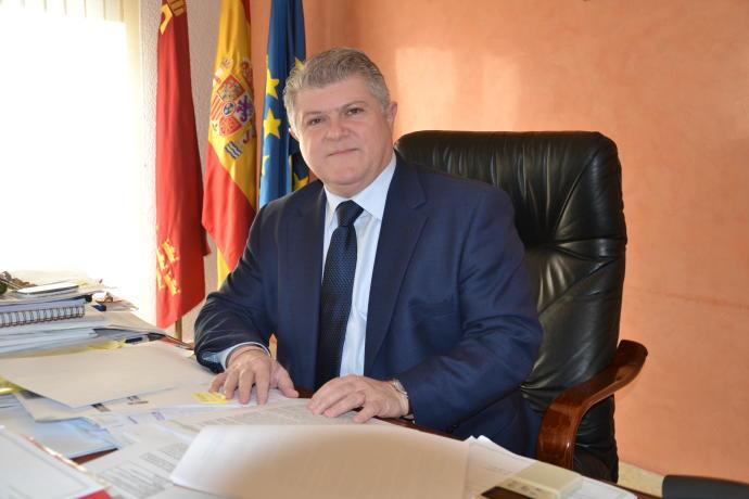 José Vélez, el alcalde de Calasparra, elegido como delegado de gobierno de la Región