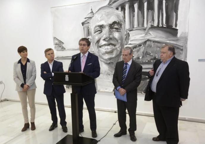 Santiago Ydáñez revive a Miguel Hernández con su exposición de pintura