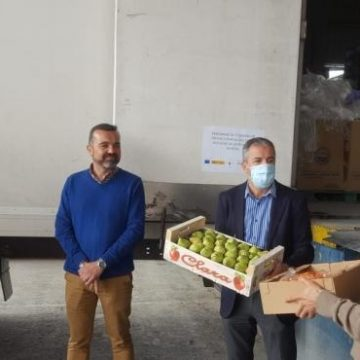 Más de 10.000 kilos de verduras llegan al Banco de Alimentos del Segura