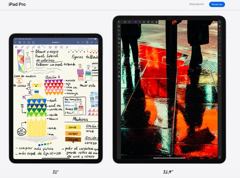 Nuevo Ipad Pro la tablet más potente de Apple