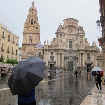 La primavera llega a la Región con lluvias intensas e intermitentes