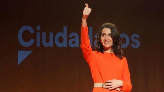 Inés Arrimadas nueva presidenta de Ciudadanos