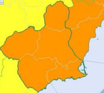 Una nueva DANA llega a Murcia el domingo