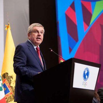 Thomas Bach, presidente del COI, espera para determinar qué hacer con los Juegos Olímpicos de Tokio 2020