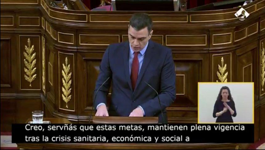 🔴 Congreso de los Diputados: Intervención de Pedro Sánchez