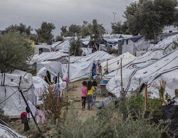 Primer positivo por coronavirus en un campo de refugiados de Grecia