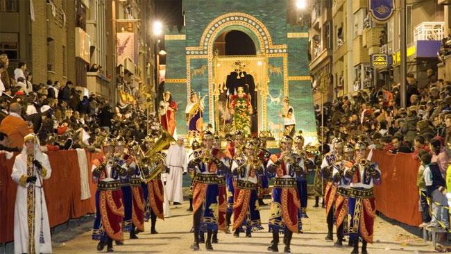 Desfile bíblico-pasional de la ciudad de Lorca