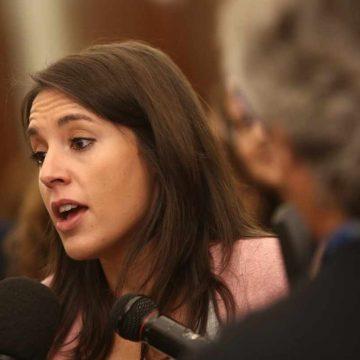 """Irene Montero: """"los impuestos son el mecanismo para que los que más tienen sean solidarios"""""""