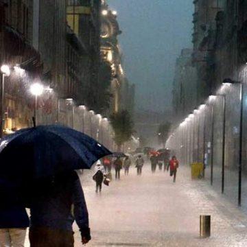 🌧️17 de abril: posibles precipitaciones en las horas centrales del día en Murcia