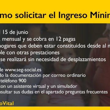 Aprobado el ingreso mínimo vital que garantiza entre 462 y 1.015 euros