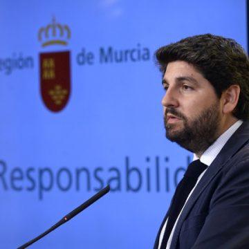 López Miras asegura que la Región recibirá menos con el nuevo criterio de reparto de fondos