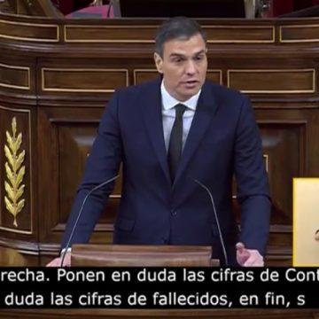 """Pedro Sánchez: """"Tenemos 0 fallecidos en España como consecuencia del Covid"""""""