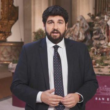 """López Miras: """"No es ético ni legítimo que el Gobierno central llegue a acuerdos bilaterales con algunas regiones a cambio de votos"""""""