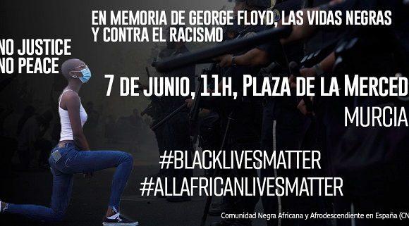 La comunidad africana convoca una concentración este domingo contra el racismo en Murcia