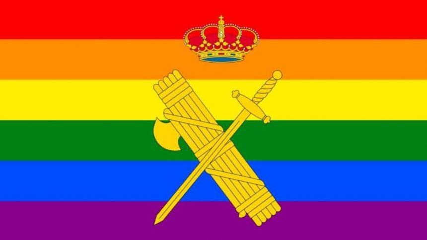 Abogados Cristianos presenta una querella contra la directora de la Guardia Civil por poner la bandera LGTBI en Twitter