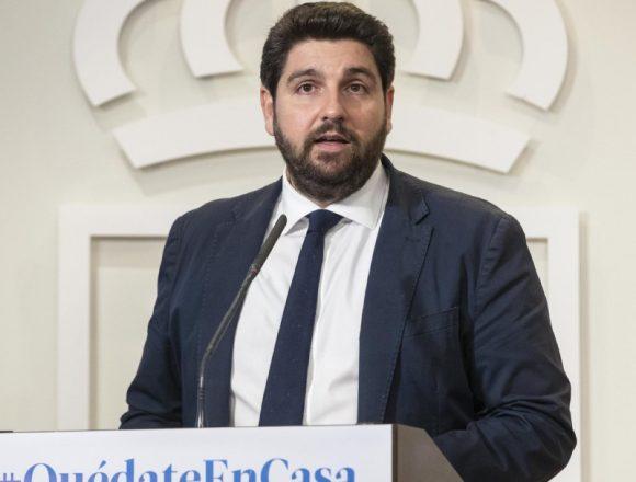 """López Miras advierte que la situación es """"muy preocupante"""""""