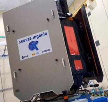 El satélite español INGENIO, un hito en el ámbito de la observación de la Tierra, se lanzará desde Kourou a finales de agosto