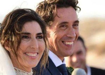 Paz Padilla rota en el entierro de su marido, Antonio Vidal