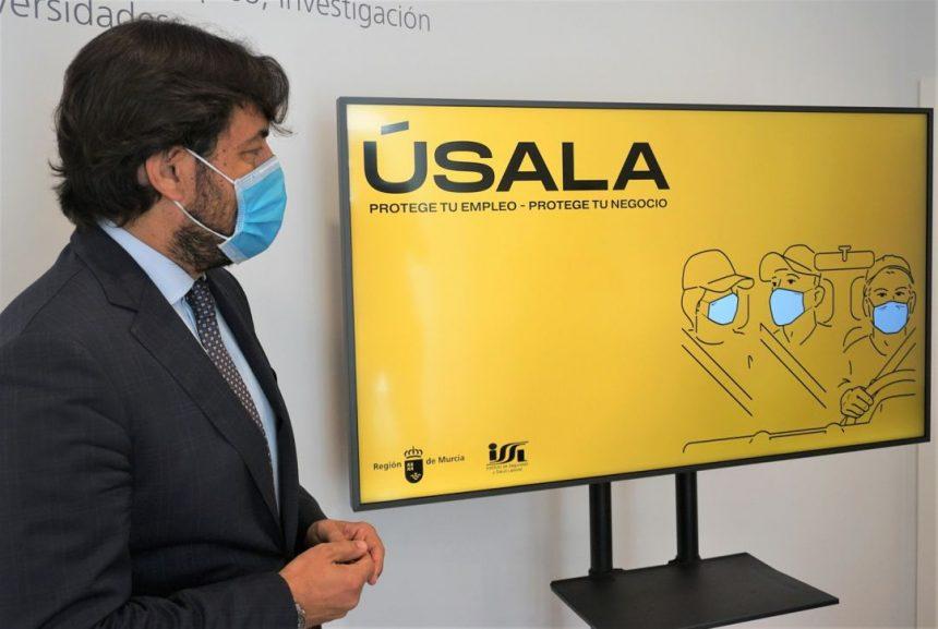 ¡Úsala! La nueva campaña de Empleo para la importancia de llevar mascarilla en el transporte al trabajo