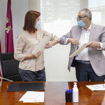 La Federación Plena Inclusión Región de Murcia firma dos convenios con Política Social