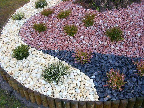 Ideas creativas: decoración con piedras para el jardín