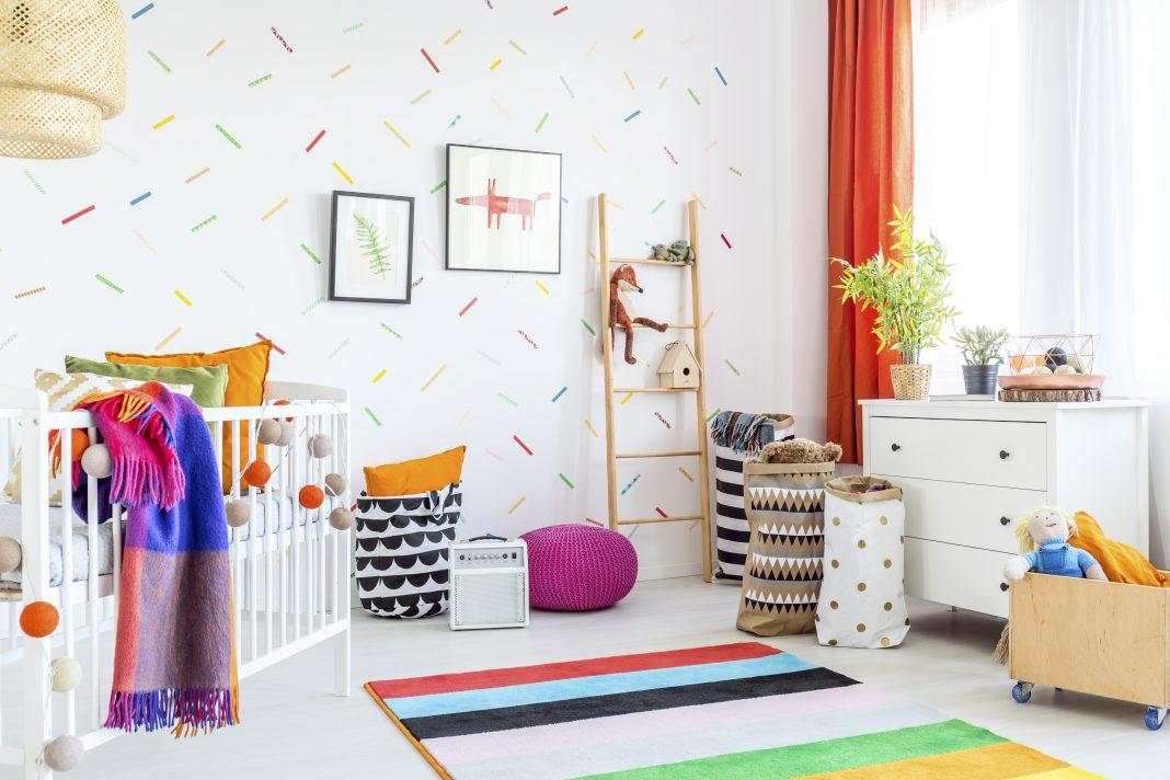 Decorar paredes para habitación de bebe