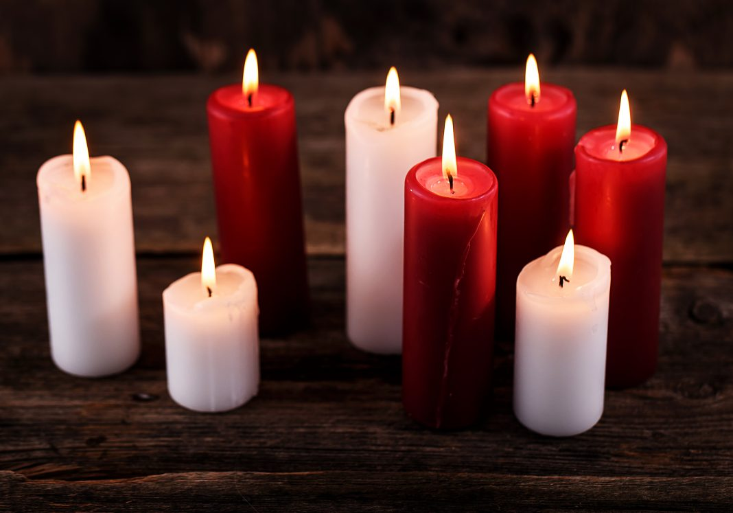 Ideas para una bonita decoración del hogar con velas