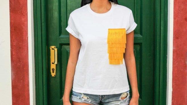 Decoración con telas para que tus camisetas sean las más originales