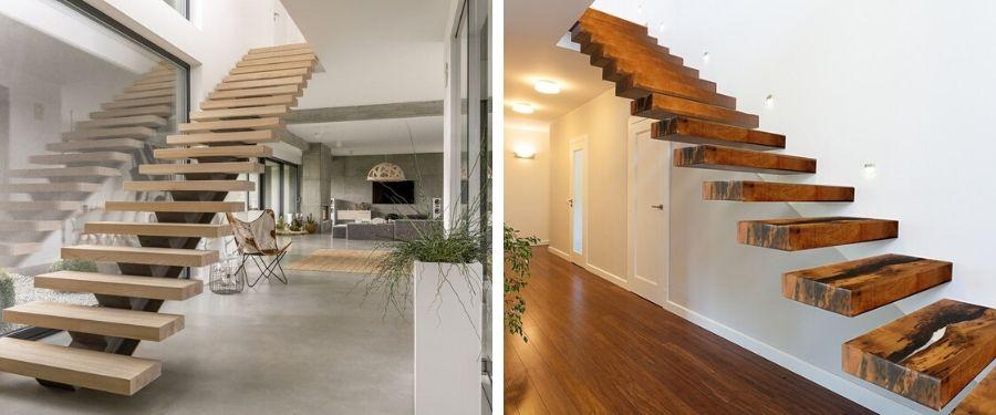 Ideas originales para la decoración de escaleras