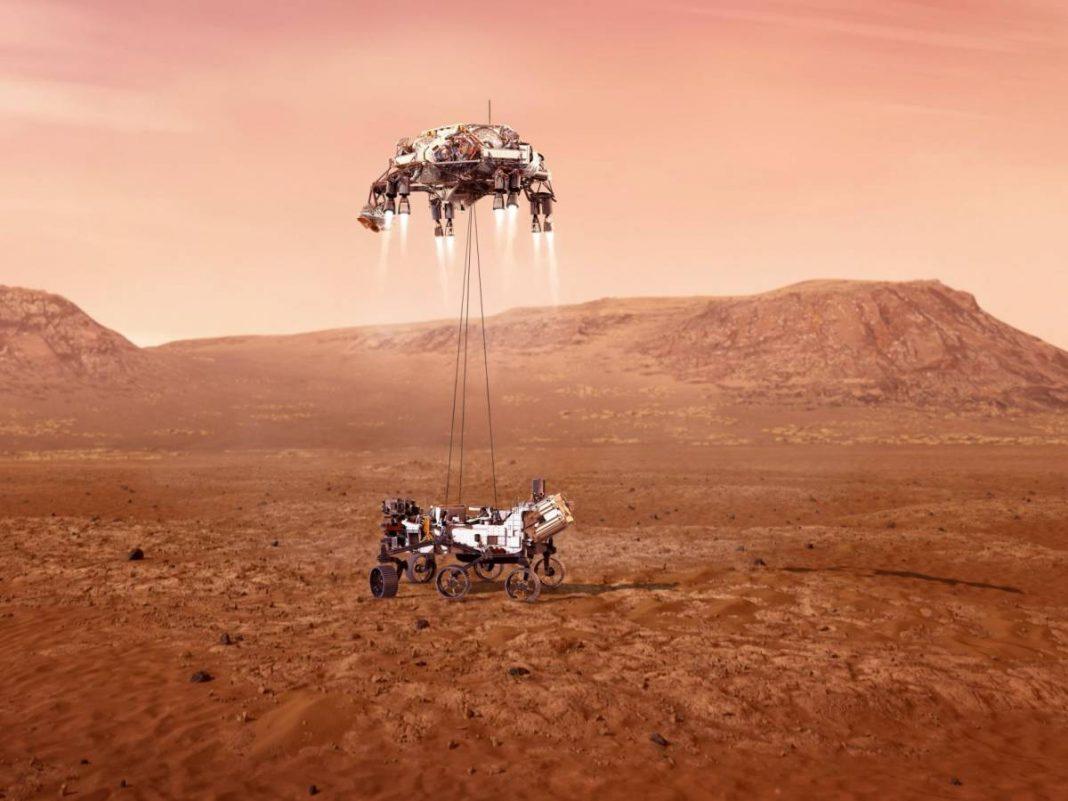 Éxito para la NASA: 'Perseverance' consigue aterrizar en Marte