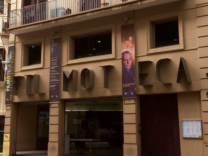 Fachada de la Filmoteca de la Región de Murcia