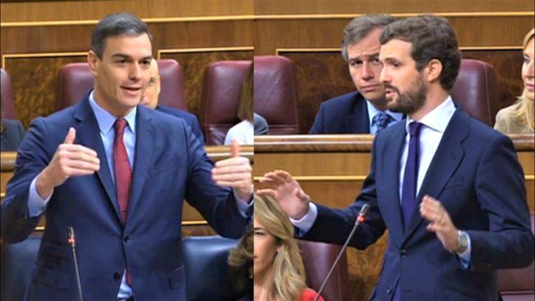 Casado acusa a Sánchez de ocultar el informe sobre los fondos europeos