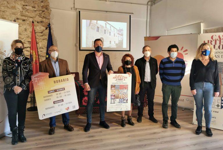 La concejalía de Artesanía presenta el programa de actividades de la Casa del Artesano de Lorca