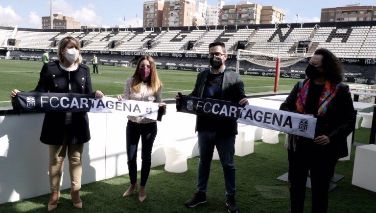 El Puerto de Cartagena firma un acuerdo de patrocinio con el FC Cartagena