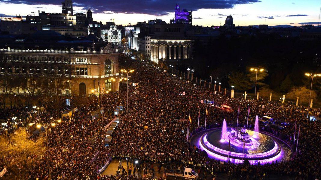 madrid-manifestación