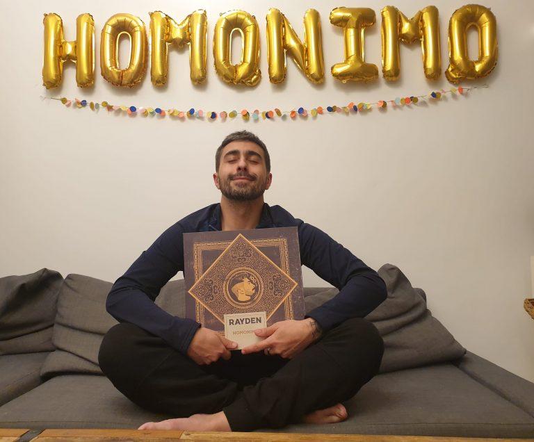 Rayden visitará este miércoles Murcia para la firma y presentación de su nuevo disco 'Homónimo'