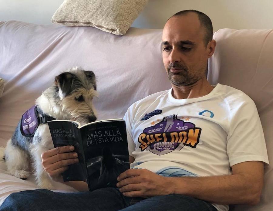 La lucha del Sheldon Running Club por visualizar el trabajo de los perros de asistencia médica